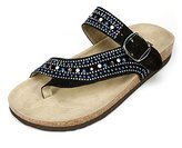 White Mountain Harbour Women US 7 Slides Sandal