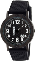 Breed Black Richard One-Hand Watch