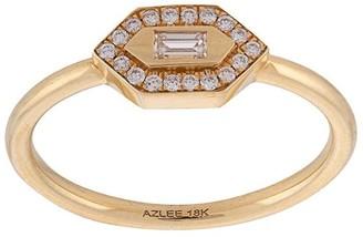 Azlee 24kt Yellow Gold Diamond Ring