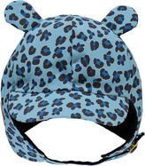 Mini Rodini Leopard Russian Hat with Ear Flaps