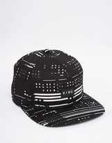 King Apparel Glitch Snapback Cap