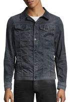 G Star Slim-Fit 3D Aged Denim Jacket
