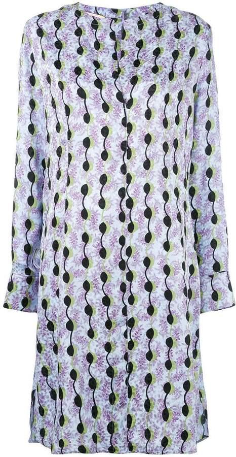 Marni patterned shirt dress