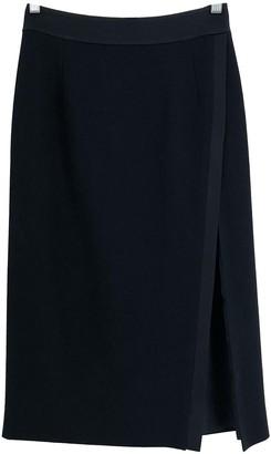 Pallas Black Wool Skirts