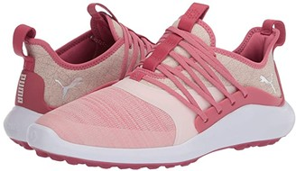 Puma Ignite Nxt Solelace (Rapture Rose/Metallic Silver) Women's Golf Shoes