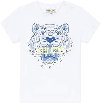 Kenzo Boy's Tiger Logo Printed T-Shirt, Size 6-18 Months
