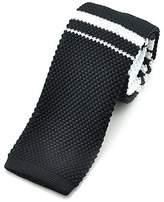 "Pense'e PenSee Casual Mens Stripe Slim 2.16"" Skinny Knit Tie"