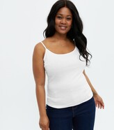 Thumbnail for your product : New Look Curves Longline Strappy Cami