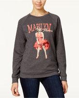 Freeze 24-7 Juniors' Marilyn Monroe Graphic Sweatshirt