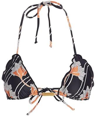 ViX by Paula Hermanny Margot Ripple Triangle Bikini Top