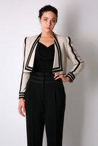 Jaeger London Wing Collar Cropped Tux