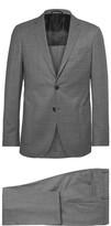 HUGO BOSS Grey Nolton Slim-fit Virgin Wool Suit - Gray