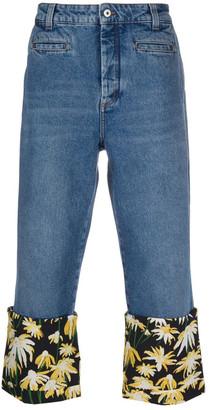 Loewe Daisy Print Jeans