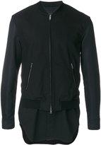 3.1 Phillip Lim layered bomber jacket - men - Cotton/Polyester/Polyurethane - S