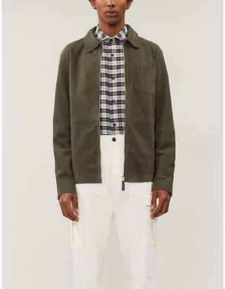 Eleventy Check cotton-flannel shirt