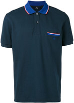 Fay Trim pocket polo shirt
