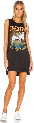 Lauren Moshi Deanna Crystal Led Zepplin Sleeveless Dress
