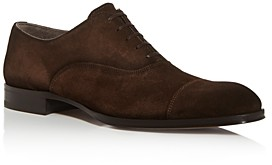 To Boot Men's Lavery Suede Cap-Toe Oxfords