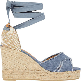 Castaner Bluma Denim Espadrille Wedges