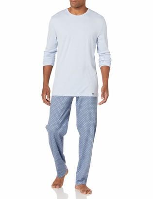 Hanro Men's Night and Day Long Sleeve Pajama Set