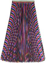 Gucci Iridescent pleated skirt