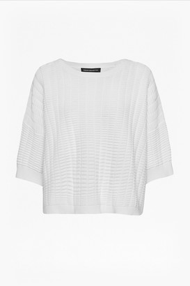 French Connection Ladder Mozart Oversized Jumper