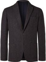 Altea Tod Multi Weave Fabric Blazer