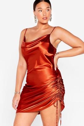 Nasty Gal Womens My Love Shines On Plus Mini Dress - Black - 16