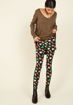 Swell on a Holiday Leggings in Cookies in S