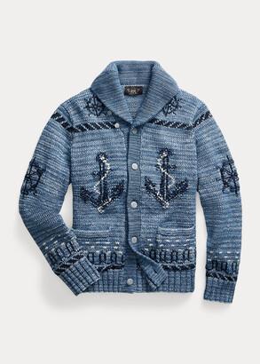 Ralph Lauren Hand-Knit Cardigan
