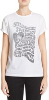 Stella McCartney 'Love In' Print Cotton Tee (Nordstrom Exclusive)