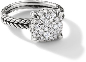 David Yurman Chatelaine Ring with Diamonds