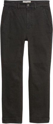 Everlane The Straight Leg Crop Pants