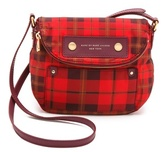 Preppy Nylon Aimee Plaid Mini Natasha Bag