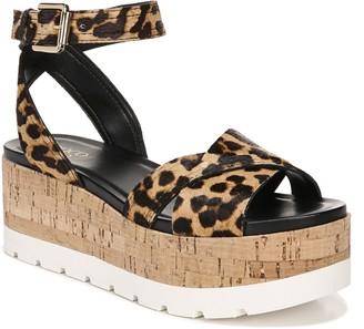 Franco Sarto Cork Platform Sandals - Fae 2
