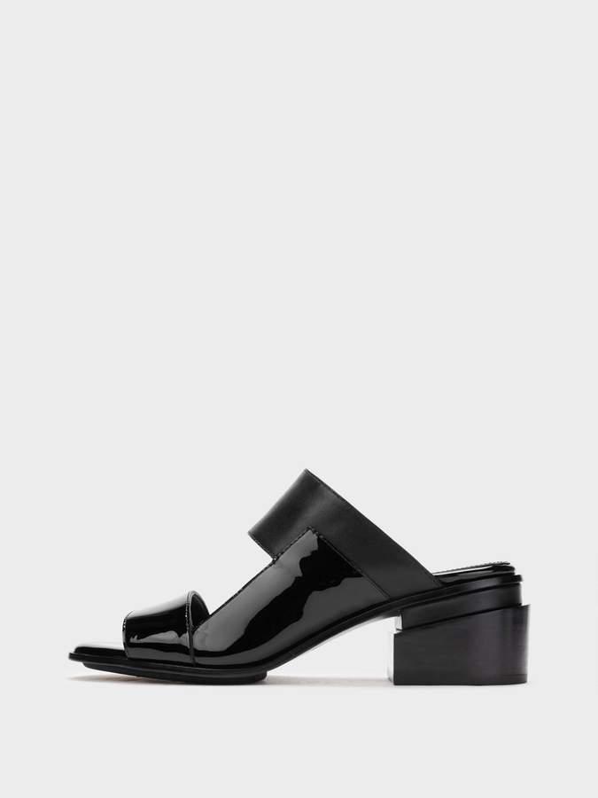 DKNY Maye Patent Mule Sandal