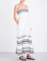 Lisa Marie Fernandez Ric Rac linen dress