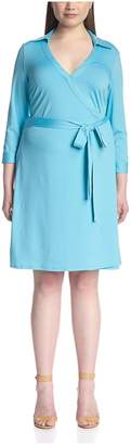 JB by Julie Brown Plus JB Julie Brown Plus Women's Milo Wrap Dress