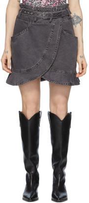 Isabel Marant Black Roani Skirt