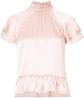 Rachel Zoe peplum hem blouse - women - Silk - 2