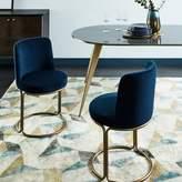 west elm Cora Dining Chair - Velvet