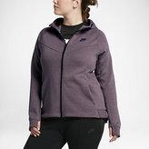 Nike Sportswear Tech Fleece Women's Full-Zip Hoodie (Plus Size 1X-3X)
