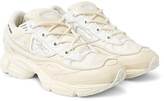 Raf Simons +adidas Originals Ozweego Bunny Rubber, Mesh And Leather Sneakers