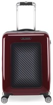 Ted Baker 'Small Burgundy' Four Wheel Suitcase - Burgundy