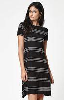 Element Kit Stripe Short Sleeve Dress