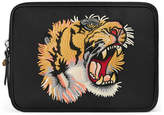 Gucci Techno canvas tablet case with embroidery