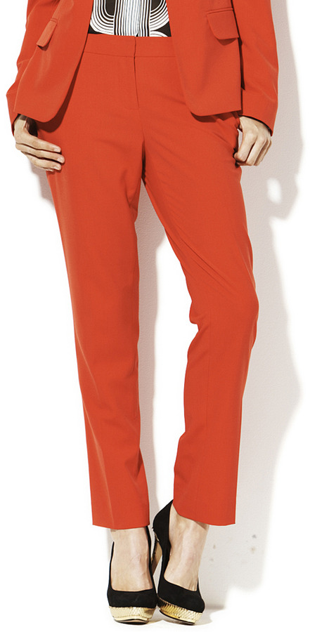 Vince Camuto Skinny Ankle Pant Rouge