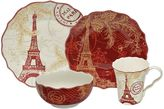 222 Fifth Joyeux Noel 16-pc. Dinnerware Set