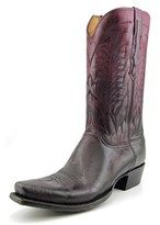 Lucchese Montgomery 2e Square Toe Leather Western Boot.