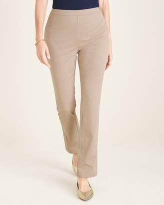 Travelers Collection Side-Slit Crepe Pants